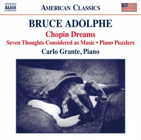 Bruce Adolphe - Piano Music | Naxos - American Classics 8559805