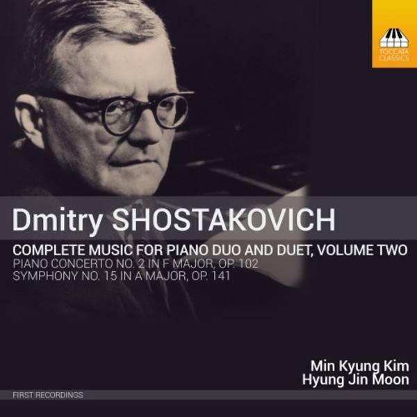 Shostakovich - Complete Music for Piano Duo & Duet Vol.2 | Toccata Classics TOCC0292