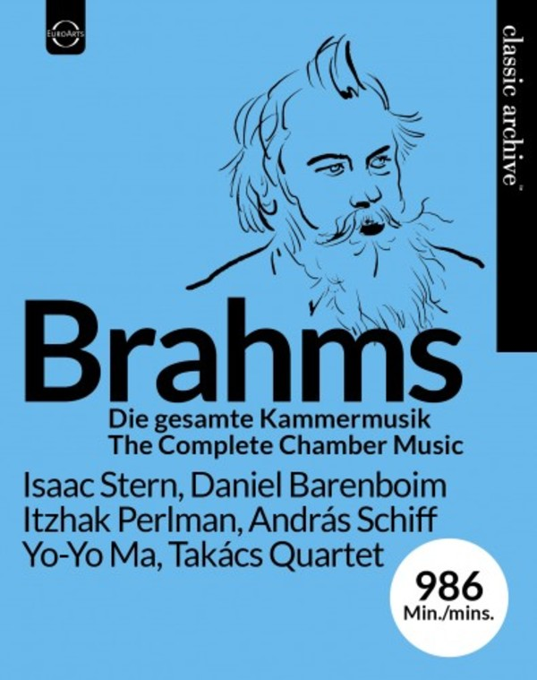 Brahms - Complete Chamber Music (Blu-ray) | Euroarts 4264014