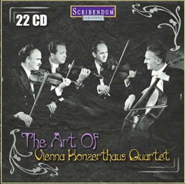 The Art of Vienna Konzerthaus Quartet | Scribendum SC804