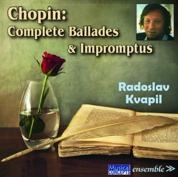Chopin - Complete Ballades & Impromptus | Musical Concepts MC3102