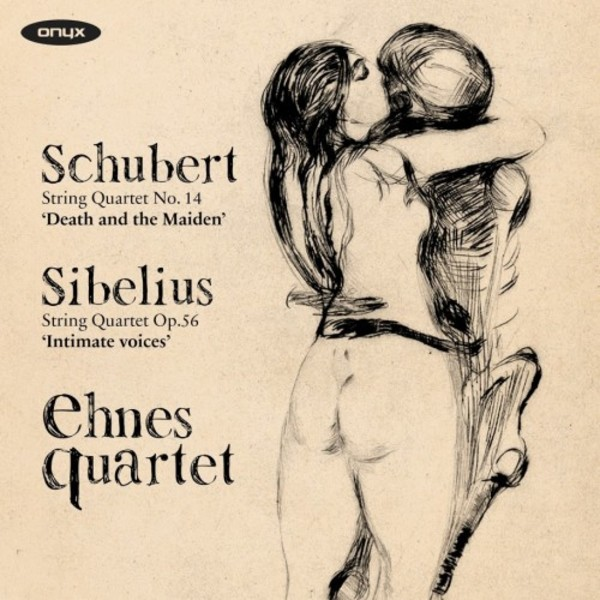 Schubert - String Quartet no.14 'Death and the Maiden'; Sibelius - String Quartet 'Intimate Voices' | Onyx ONYX4163