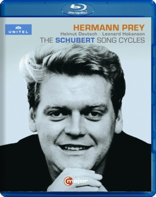 Hermann Prey: The Schubert Song Cycles (Blu-ray) | C Major Entertainment 751304