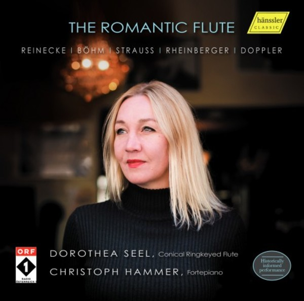The Romantic Flute: Works by Reinecke, Bohm, Strauss, Rheinberger, Doppler | Haenssler HC16087