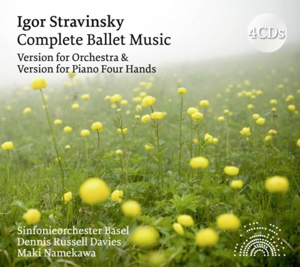 Stravinsky - Complete Ballet Music: Versions for Orchestra & and for Piano 4 Hands | Solo Musica SOB12