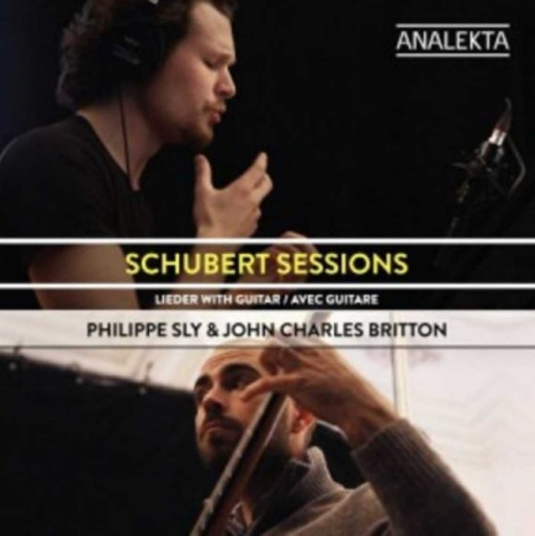 Schubert Sessions: Lieder with Guitar | Analekta AN29999