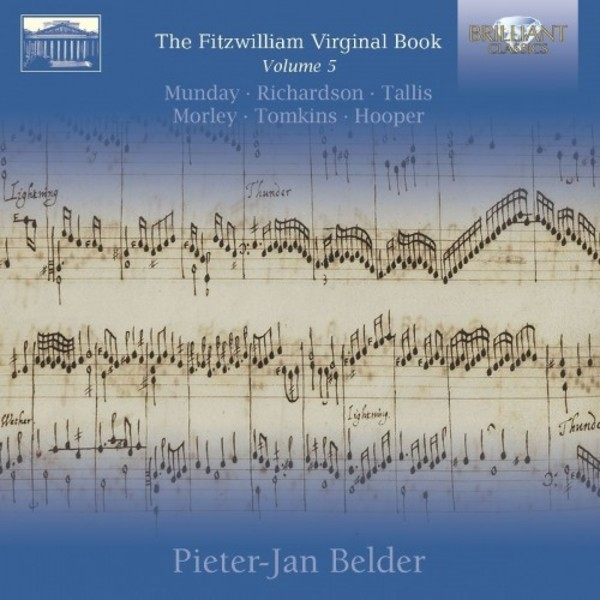 The Fitzwilliam Virginal Book Vol.5 | Brilliant Classics 95308