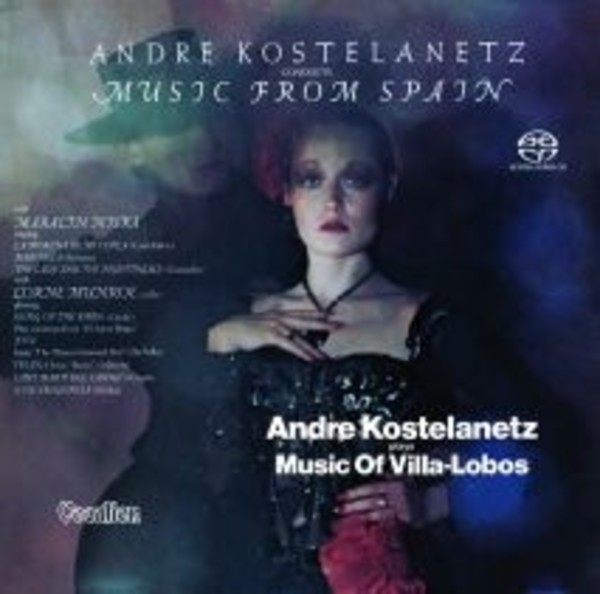 Andre Kostelanetz: Music of Spain & Villa-Lobos | Dutton CDLK4594