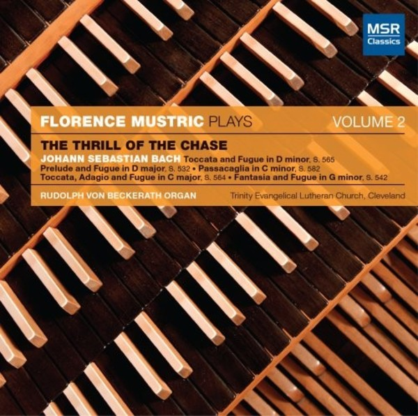 Florence Mustric Plays Vol.2: The Thrill of the Chase | MSR Classics MS1271