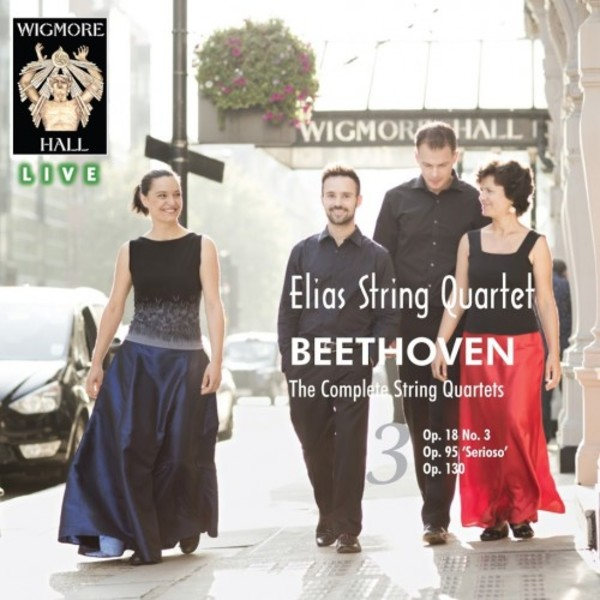 Beethoven - The Complete String Quartets Vol.3 | Wigmore Hall Live WHLIVE00862