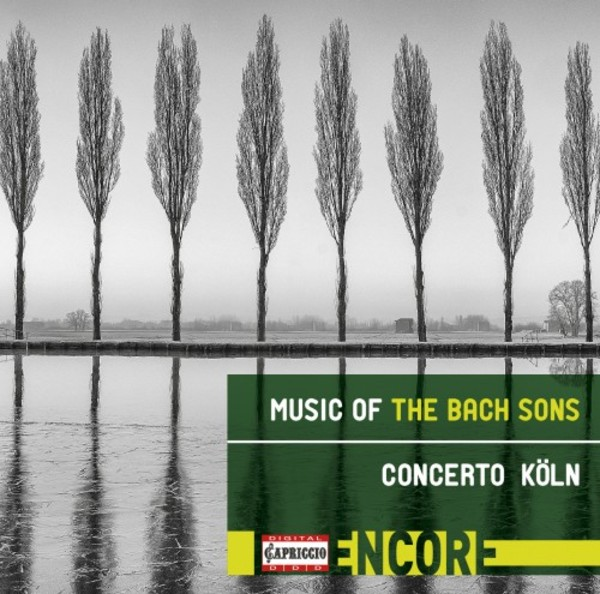 Music of the Bach Sons | Capriccio C8007