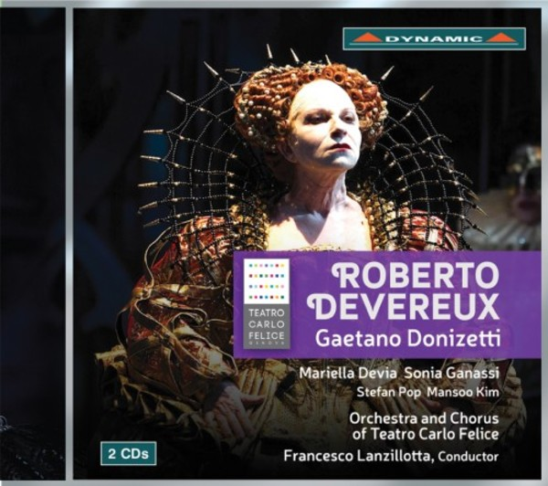 Donizetti - Roberto Devereux | Dynamic CDS7755