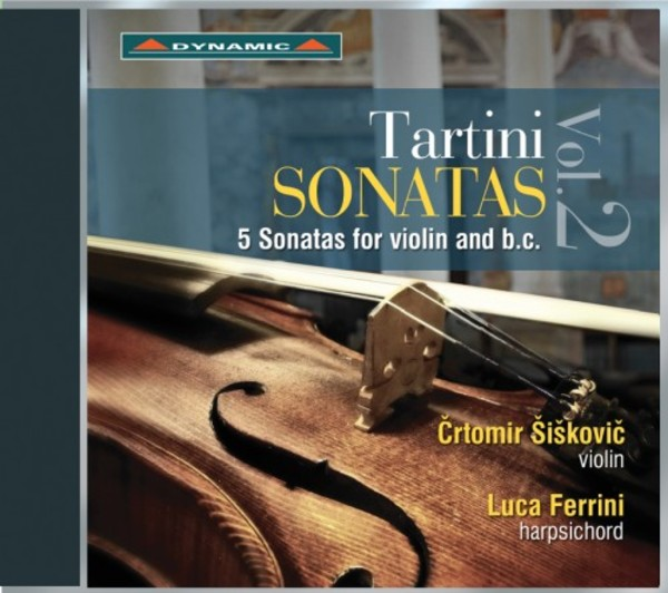 Tartini - Violin Sonatas | Dynamic CDS7775