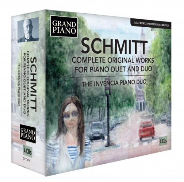 Schmitt - Complete Original Works for Piano Duet and Duo | Grand Piano GP730X