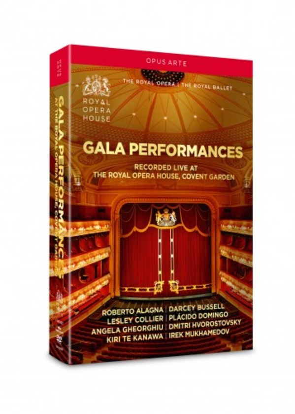 Gala Performances: Opera & Ballet Favourites, Great Opera Arias (DVD) | Opus Arte OA1229BD