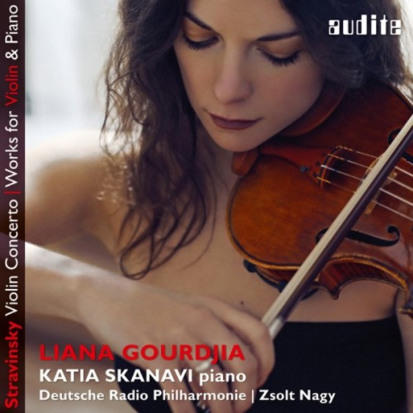 Stravinsky - Violin Concerto, Works for Violin & Piano | Audite AUDITE97697