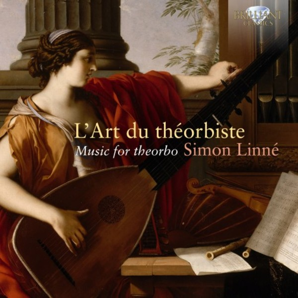 L'Art du theorbiste: Music for theorbo | Brilliant Classics 95426