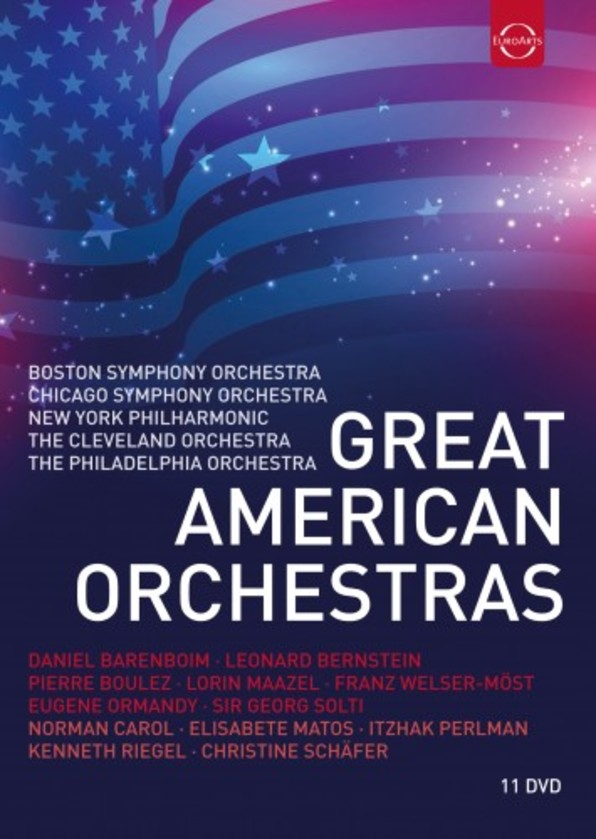 Great American Orchestras (DVD) | Euroarts 4297018