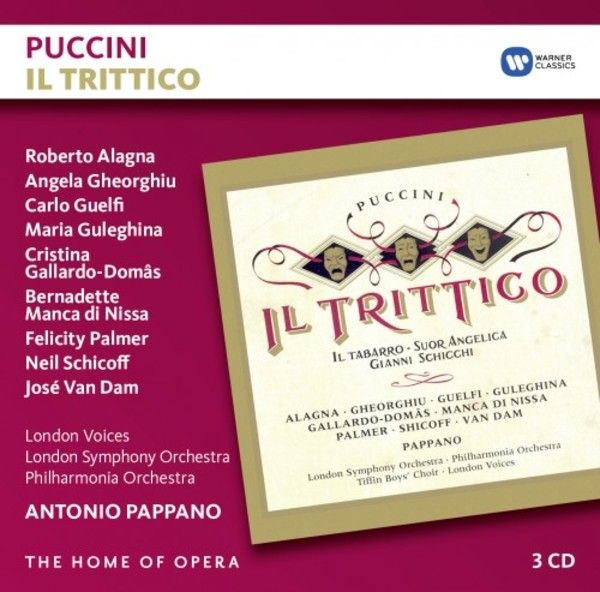 Puccini - Il Trittico | Warner - The Home of Opera 9029590063
