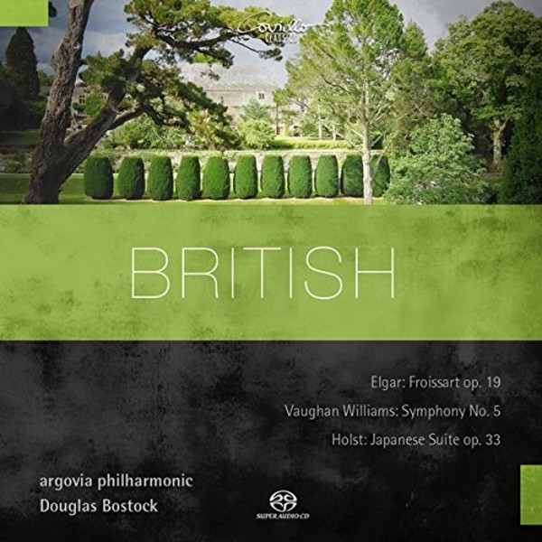 British: Orchestral Works by Elgar, Vaughan Williams & Holst | Coviello Classics COV91515