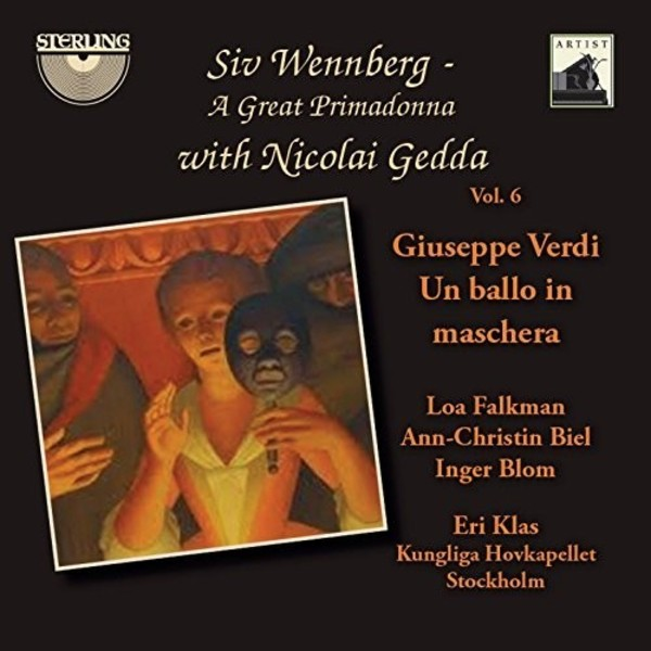 Siv Wennberg: A Great Primadonna Vol.6 - Verdi: Un ballo in maschera