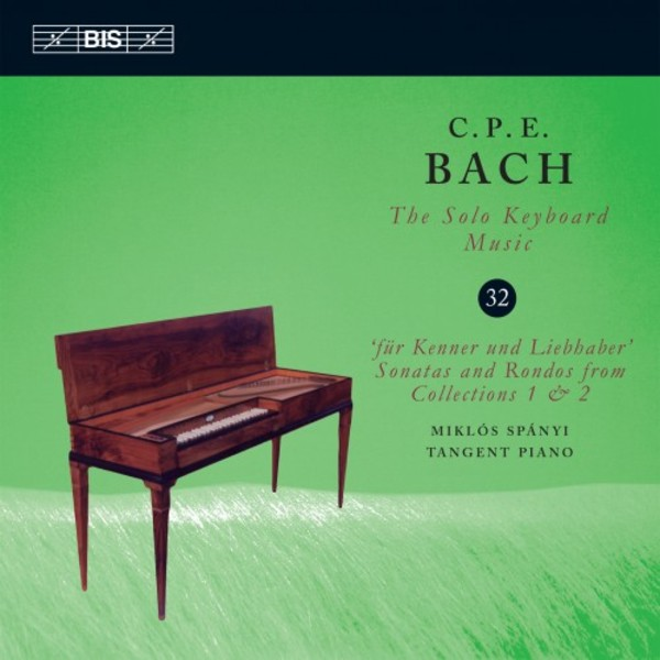 CPE Bach - Solo Keyboard Music Vol.32 | BIS BIS2205