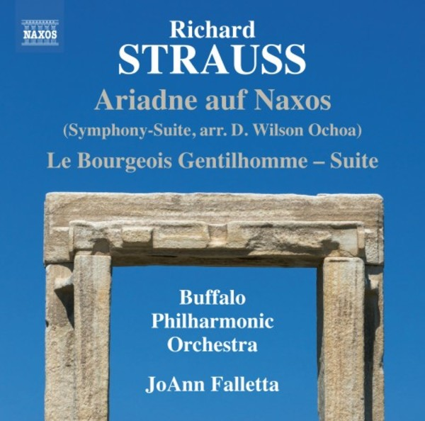 R Strauss - Ariadne auf Naxos Symphony-Suite, Le Bourgeois Gentilhomme Suite | Naxos 8573460