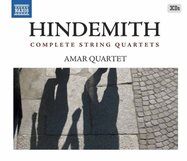 Hindemith - Complete String Quartets | Naxos 8503290