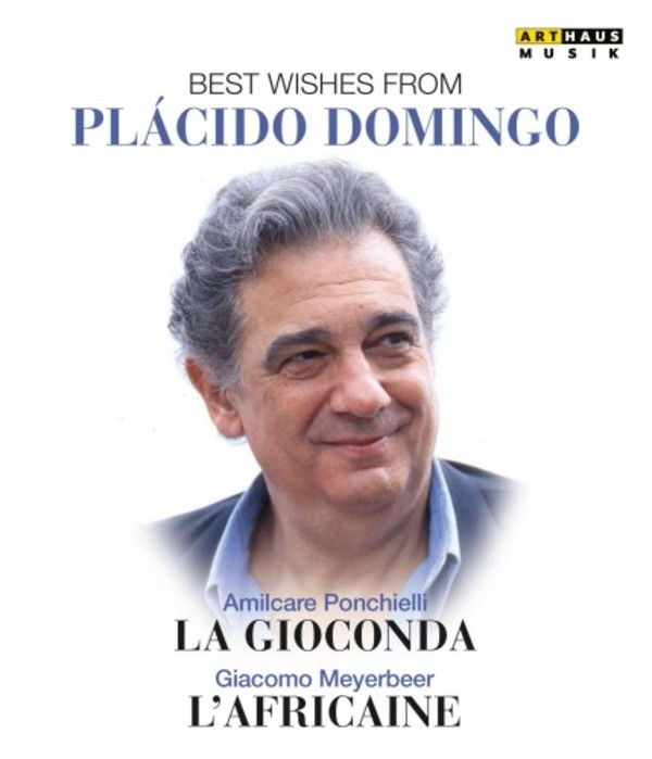 Best Wishes from Placido Domingo: La Gioconda & L�Africaine (DVD)