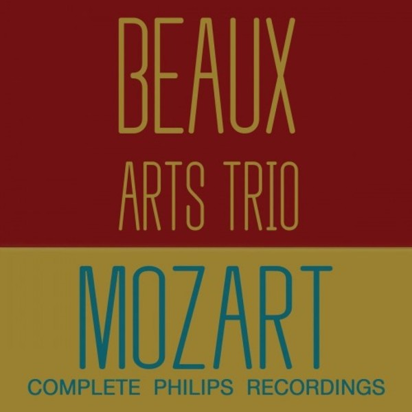 Beaux Arts Trio: Complete Mozart Recordings on Philips | Decca 4831573