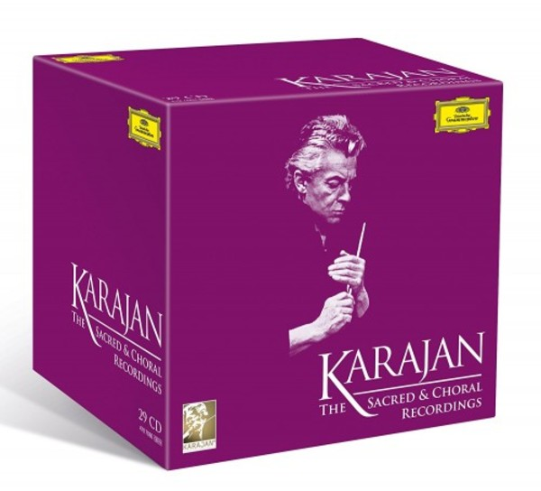 Herbert von Karajan: The Sacred and Choral Recordings | Deutsche Grammophon 4797060