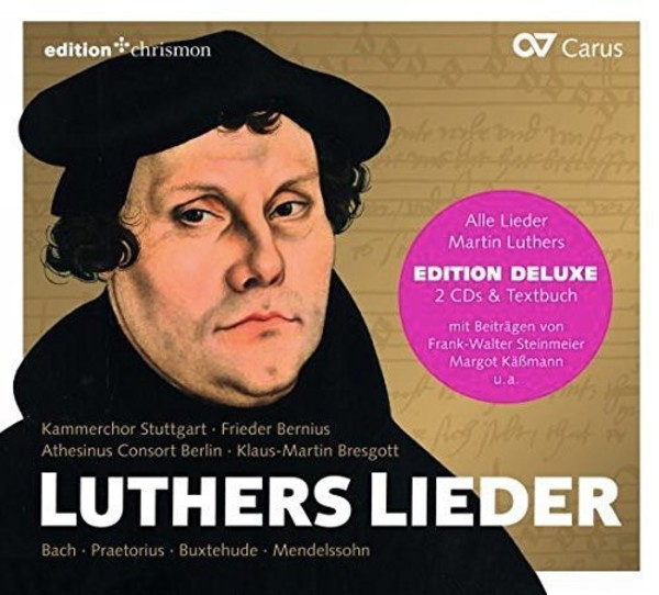Luthers Lieder (CD + Book) | Carus CAR83469