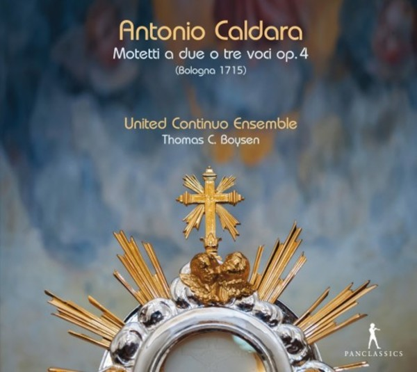 Caldara - Motets for two or three voices, op.4 | Pan Classics PC10362