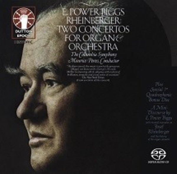 Rheinberger: Two Concertos for Organ and Orchestra | Dutton - Epoch CDLX7334