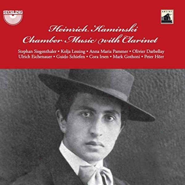 Kaminski - Chamber Music with Clarinet | Sterling CDA1681