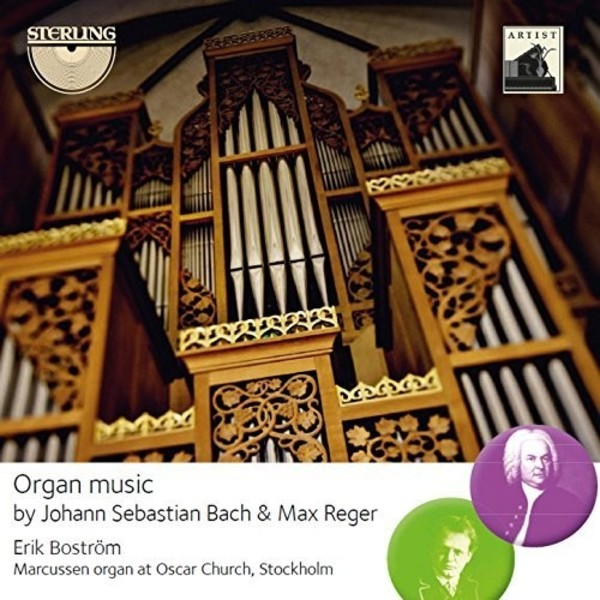Organ Music by JS Bach & Max Reger | Sterling CDA1687