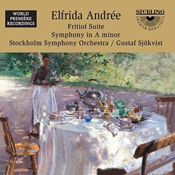 Elfrida Andree - Fritiof Suite, Symphony no.2 | Sterling CDS1016