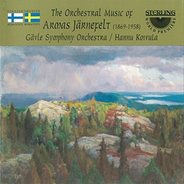The Orchestral Music of Armas Jarnefelt | Sterling CDS1021