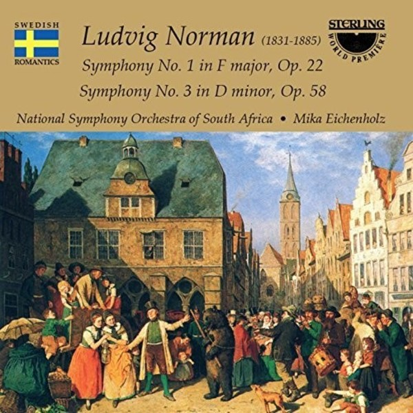 Ludvig Norman - Symphonies 1 & 3 | Sterling CDS1038