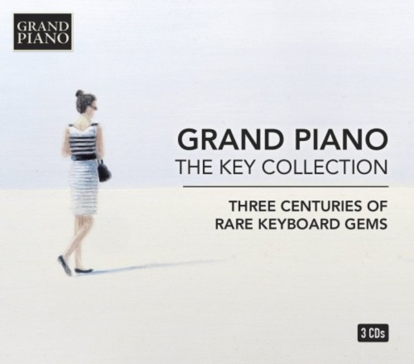 Grand Piano: The Key Collection (Three Centuries of Rare Keyboard Gems) | Grand Piano GP75355