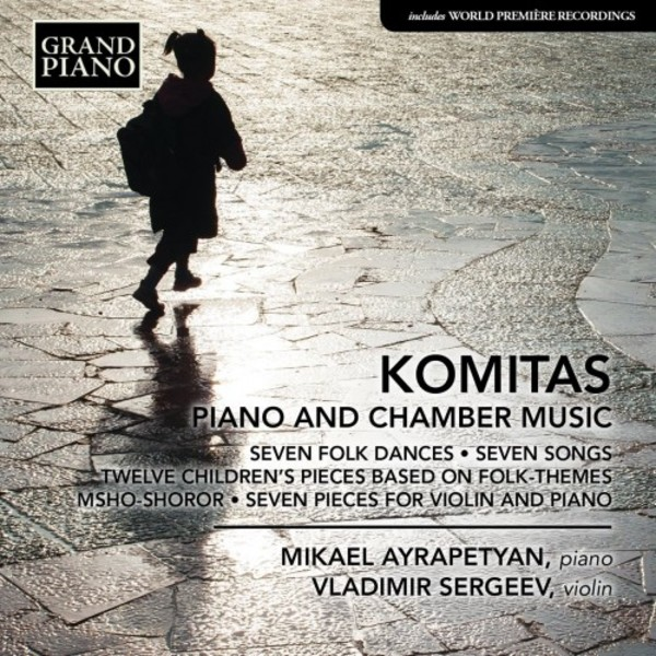 Komitas - Piano and Chamber Music | Grand Piano GP720