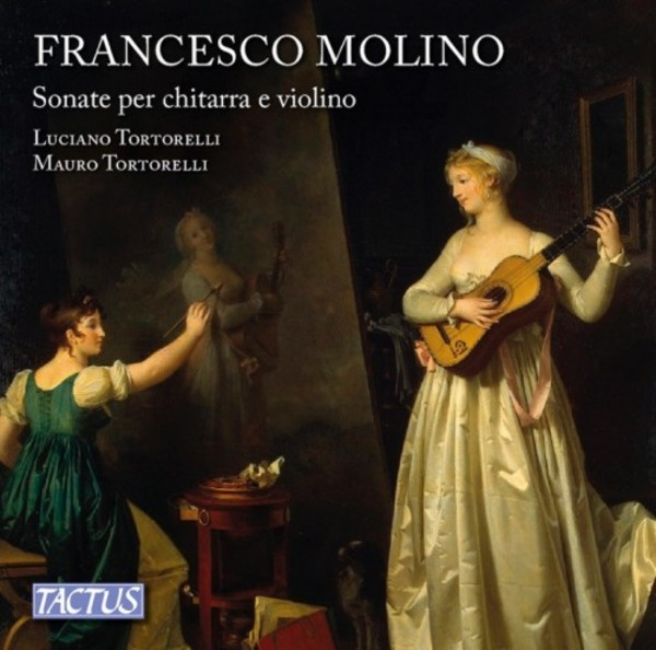 Molino - Sonatas for Guitar and Violin | Tactus TC761302