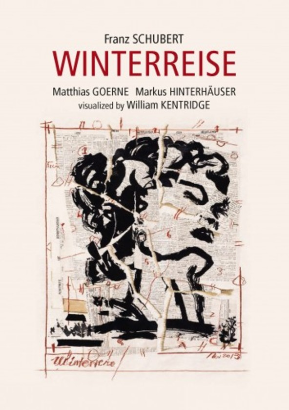 Schubert - Winterreise, visualised by William Kentridge (DVD) | C Major Entertainment 738008
