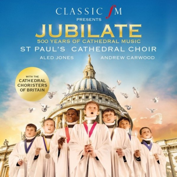 Jubilate: 500 Years of Cathedral Music | Decca 4831531
