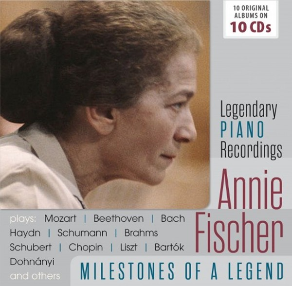 Annie Fischer: Milestones of a Legend (Legendary Piano Recordings) | Documents 600375