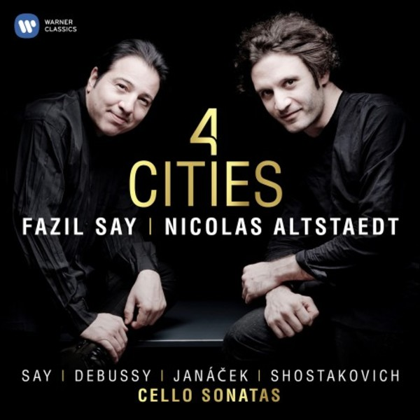 4 Cities: Cello Sonatas by Say, Debussy, Janacek, Shostakovich | Warner 9029586724