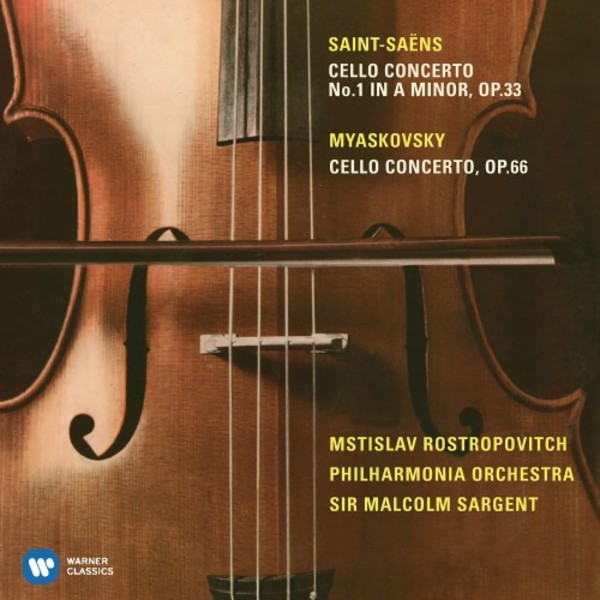 Saint-Saens & Myaskovsky - Cello Concertos | Warner 9029589226