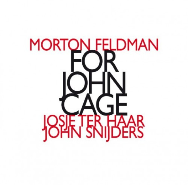 Feldman - For John Cage | Hat Hut HATNOWART160