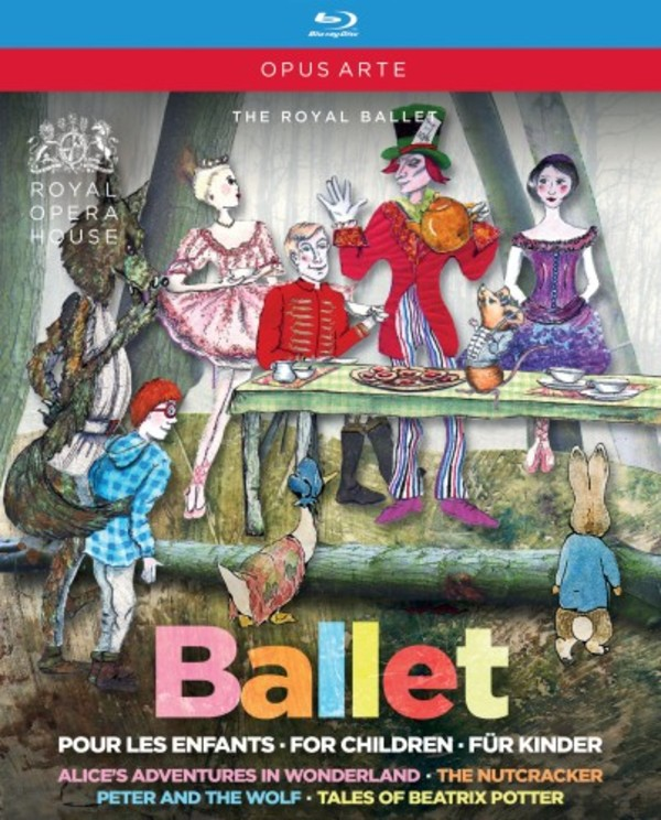 Ballet for Children (Blu-ray) | Opus Arte OABD7217BD