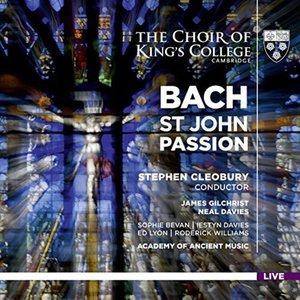 JS Bach - St John Passion | Kings College Cambridge KGS0018